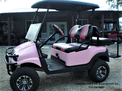 Electric Lifted Golf Carts: Lifted Electric Golf Carts For Sale In on collapsible shopping cart, clicgear 2.0 push cart, pink bus, pink 4 wheeler, clicgear 3.5 push cart, pink storage chest, beach cart, pink shoes, blue cart, pink trailer,